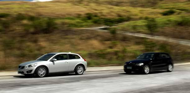 Top Gear Philippines Big Test: Volvo C30 vs BMW 1-Series