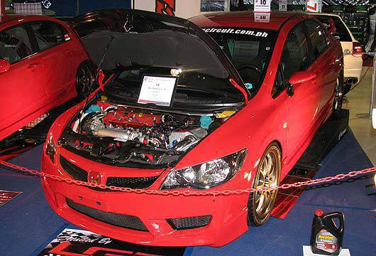 TopGear.com.ph Philippines Car Features - Honda Civic FD at the 2010 Trans Sport Show
