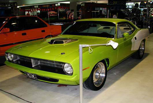 TopGear.com.ph Philippines Car Features - Plymouth Barracuda at the 2010 Trans Sport Show