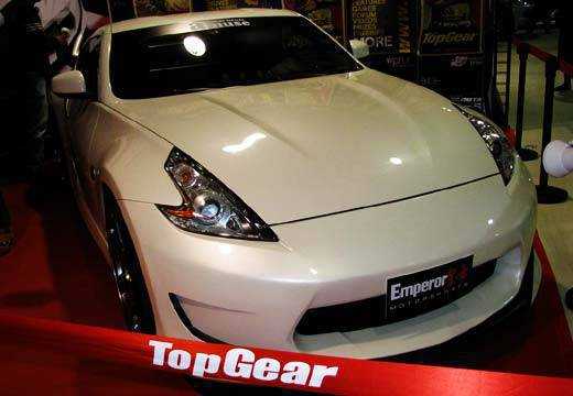 TopGear.com.ph Philippines Car Features - Nissan 370Z at the 2010 Trans Sport Show