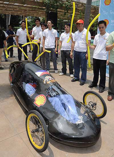 TopGear.com.ph Philippine Car Features - Tiger 400 by students of the University of Santo Tomas (Shell Eco-marathon Asia entry - 2010)