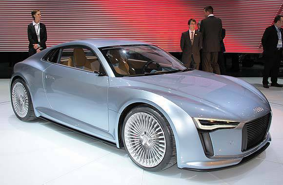 Audi e-tron at the 2010 NAIAS