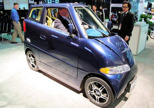 Tango by Commuter Cars at the 2010 NAIAS