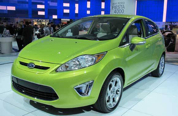 Ford Fiesta at the 2010 NAIAS