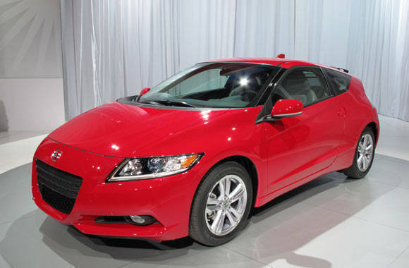 Honda CR-Z at the 2010 NAIAS