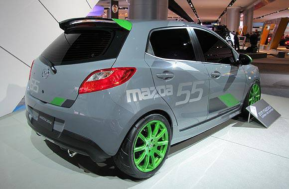 Mazdaspeed 2 at the 2010 NAIAS