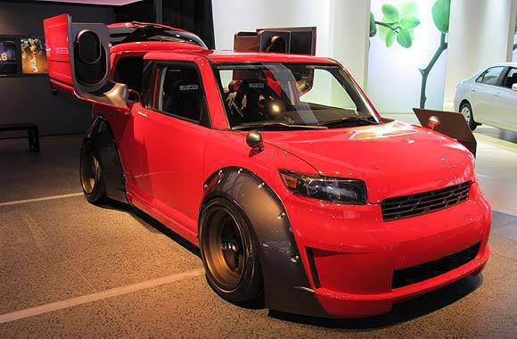 Scion xB by Five Axis at the 2010 NAIAS