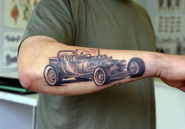 Car-crazy tattoo #3
