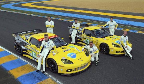 Chevrolet Corvette at Le Man
