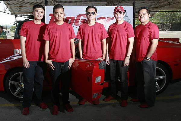 Ferrari-Puma Track Day Winners