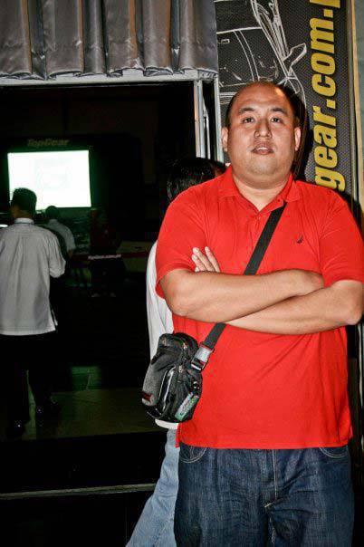 Top Gear Philippines anniversary party 2009 Dinzo Tabamo