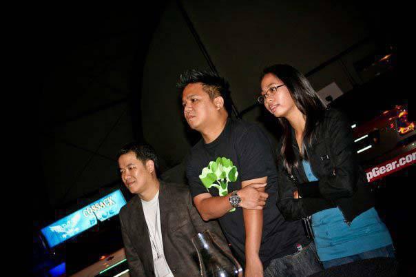 Top Gear Philippines anniversary party 2009 Vernon Sarne Jaykee Evangelista Sharleen Banzon