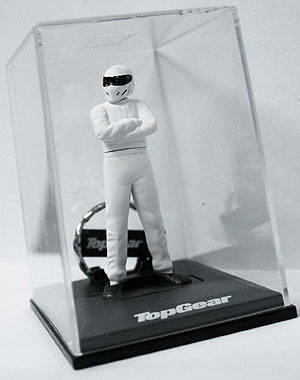 The Stig keychain