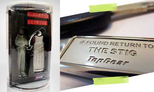 Top Gear The Stig Keyring