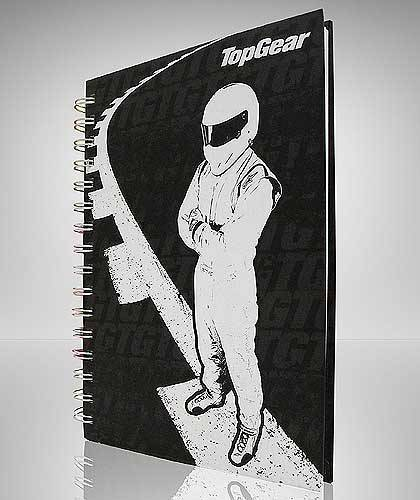 Top Gear The Stig Notebook