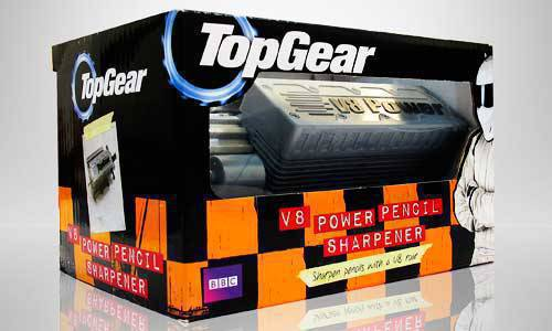 Top Gear V8 Power Pencil Sharpener