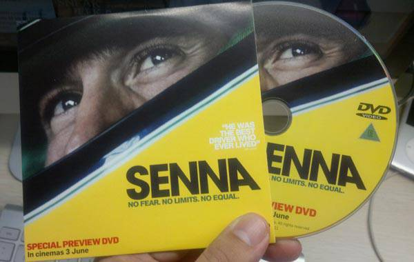 Senna special preview DVD