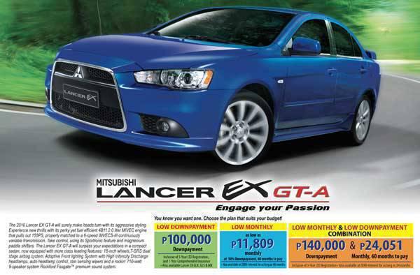 TopGear.com.ph Philippine Car News - Mitsubishi Promo July 2010