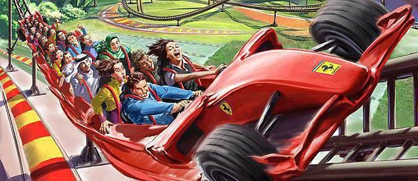 TopGear.com.ph Philippines Car News - Ferrari World Abu Dhabi  reveals more than 20 rides