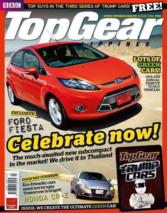 BBC Top Gear Philippines - August 2010 (The Green Issue)