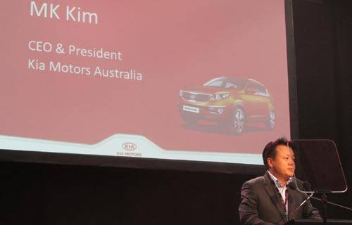 TopGear.com.ph Philippine Car News - Kia Motors Australia CEO and president Min Kun Kim