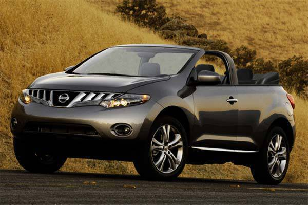 Nissan Murano Convertible (from Inside Line)