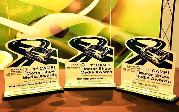 TopGear.com.ph Philippine Car News - Topgear.com.ph bags trophies in CAMPI Motor Show Media Awards