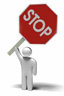 Stop Sign (photo from SXC.hu)