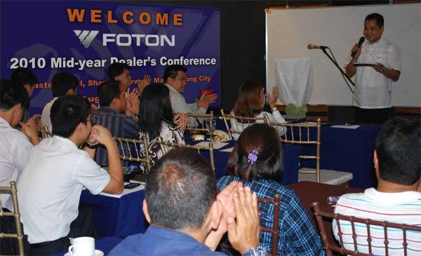 TopGear.com.ph Philippine Car News - Foton Dealers' Conference
