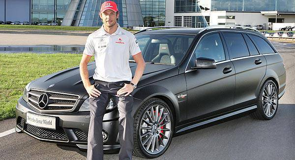 TopGear.com.ph Philippine Car News - 2009 F1 champ Jenson Button gets limited-edition Mercedes-Benz