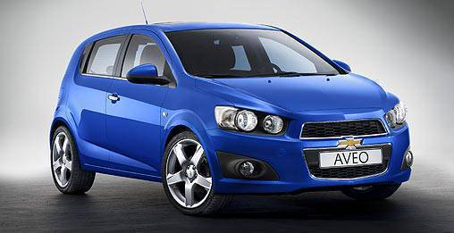 TopGear.com.ph Philippine Car News - Chevrolet reveals production Aveo before Paris motor show