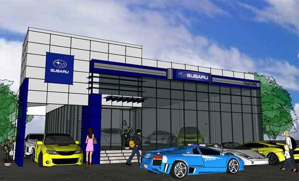 TopGear.com.ph Philippine Car News - Subaru Pampanga design