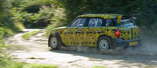 TopGear.com.ph Philippine Car News - Prodrive completes Mini Countryman WRC's first shakedown