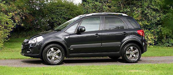 TopGear.com.ph Philippine Car News - Suzuki to sell blacked-out special edition SX4 in the UK