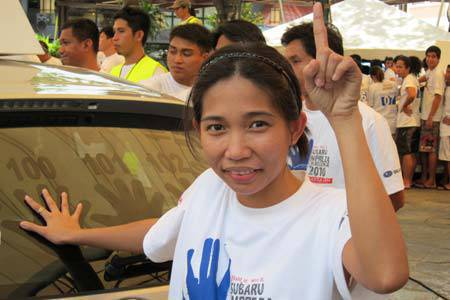 TopGear.com.ph Philippine Car News - Apple Joy Lee Balibado, Subaru Impreza Challenge winner