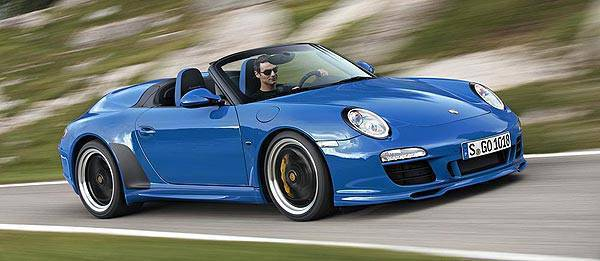 TopGear.com.ph Philippine Car News - Porsche to unravel fourth-edition 911 Speedster at Paris motor show