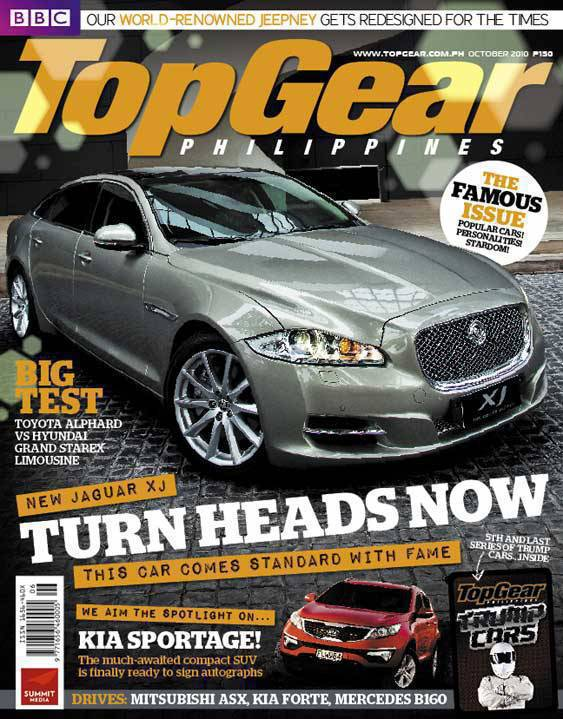 Top Gear Philippines October 2010 cover