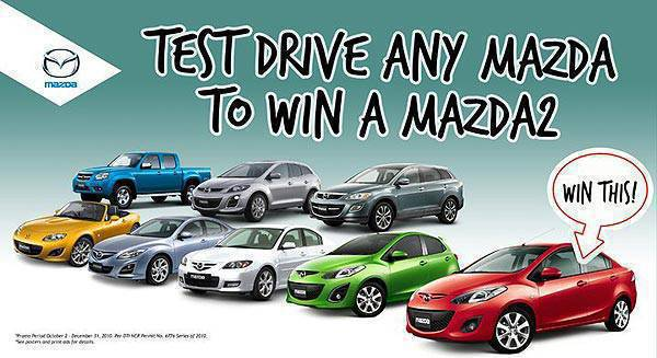 TopGear.com.ph Philippine Car News - Mazda promo: Brand-new units up for grabs