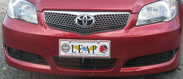 TopGear.com.ph Philippine Car News - Unauthorized use of commemorative license plates to become a crime