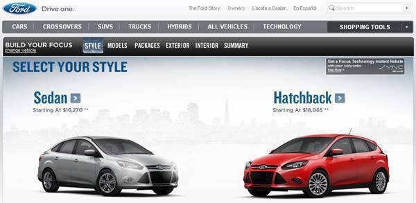 TopGear.com.ph Car News - Ford Focus Configurator