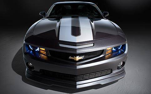 TopGear.com.ph Philippine Car News - 2010 SEMA: Chevrolet to show off customized Camaros