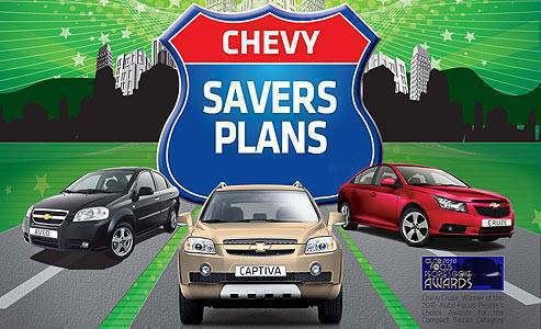 TopGear.com.ph Philippine Car News - Chevrolet promo: Saver plans for various models
