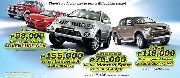 TopGear.com.ph Philippine Car News - Mitsubishi promo: Fastest way to drive – and win! - a Mitsubishi