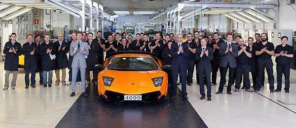 TopGear.com.ph Philippine Car News - Lamborghini rolls out last Murcielago