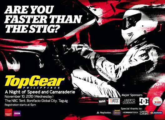 Top Gear Philippines 6th Anniversary Party Invitation