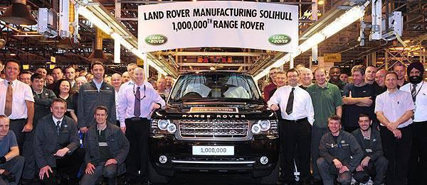 TopGear.com.ph Philippine Car News - Land Rover donates 1,000,000th Range Rover to charity