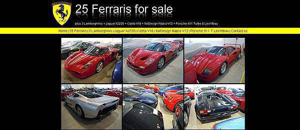 TopGear.com.ph Philippine Car News - Thirty-three supercars with only factory driven mileage up for sale