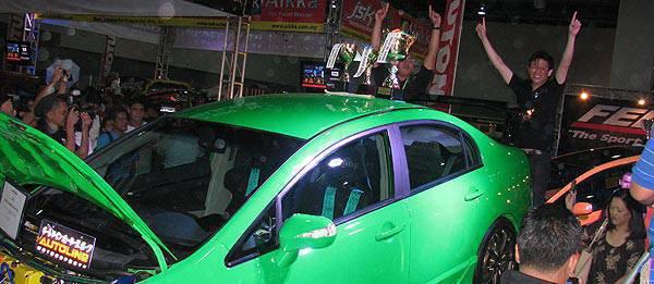 TopGear.com.ph Philippine Car Market - Honda Civic wins 2010 Manila Auto Salon Best of Show-Custom Car award
