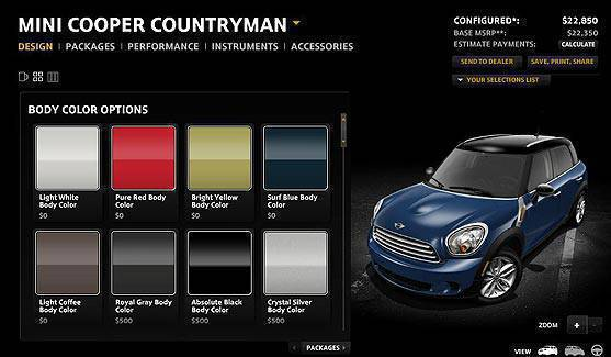 TopGear.com.ph Philippine Car News - Mini Countryman configurator goes online