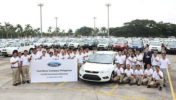 TopGear.com.ph Philippine Car News - Ford Group Philippines marks milestone in exports